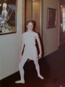 photo of me taken not too long before my hysterectomy