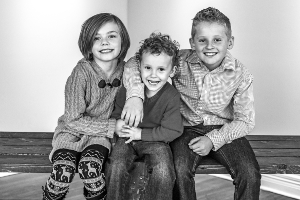 Bailey Family 2015-3b&w